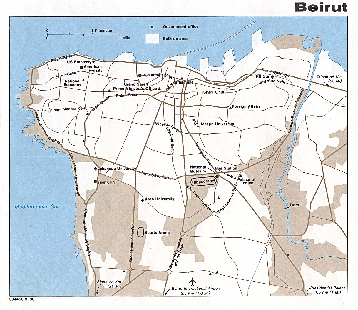 the lebanon Lebanon Map of Lebanon